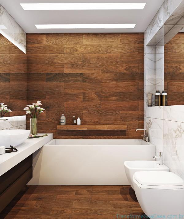 Revestimento para banheiro – Como escolher 12 dicas de decoração como decorar como organizar