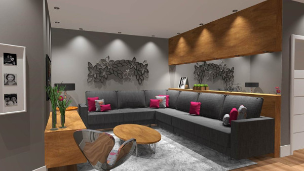 Decora o de sala simples barata fotos dicas de tv for Fotos de sala de estar simples