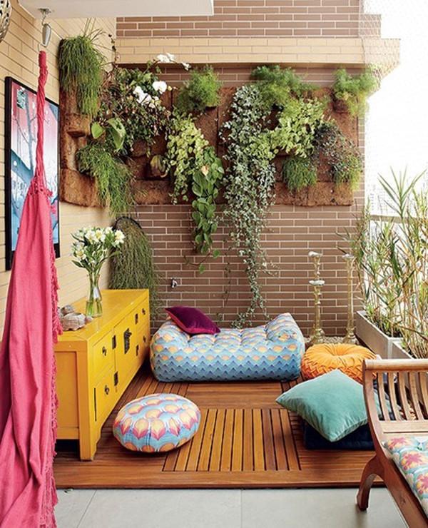 Decoraç u00e3o rústica para varanda Como fazer, dicas, fotos,área externa -> Decoração De Varandas Externas De Casas
