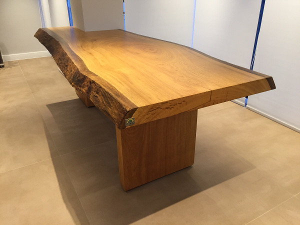 Mesas r sticas de madeira como escolher para churrasco - Mesas de noche rusticas ...