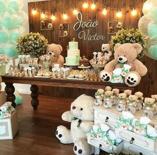 Matrimonio Tema Invernal : Chá de bebê decorações e ideias incríveis para você se