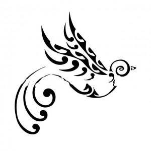 tatuagens Maori Aves