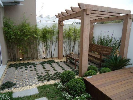 Como criar jardins pequenos