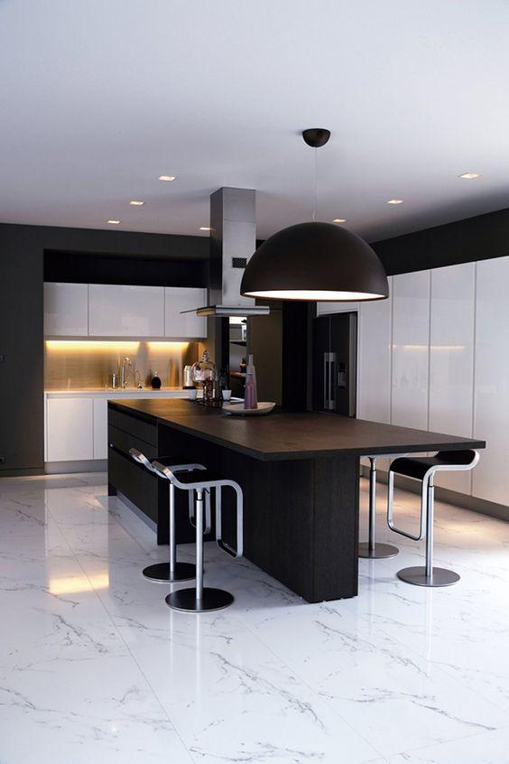 Os melhores pisos para cozinha Pisos de Pedra