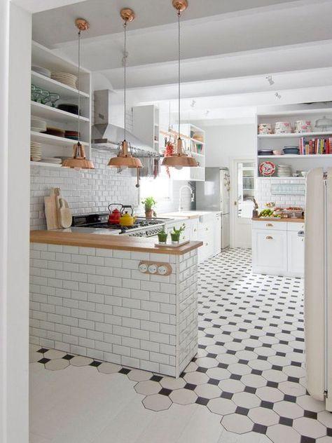 Os melhores pisos para cozinha Cerâmico